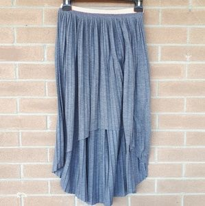 American Eagle high-low skirt